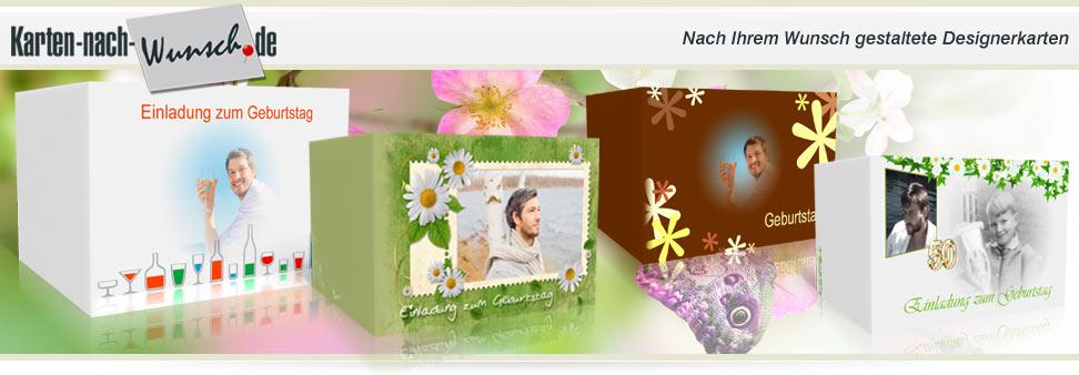 Einladungskarten & Dankeskarten drucken | karten-nach-wunsch
